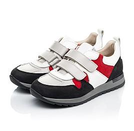 Детские кроссовки Woopy Fashion разноцветные для мальчиков натуральные кожа и нубук размер 26-37 (7063) Фото 3
