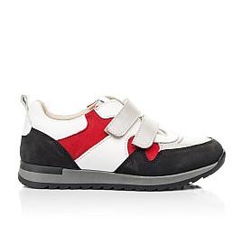 Детские кроссовки Woopy Fashion разноцветные для мальчиков натуральные кожа и нубук размер 26-37 (7063) Фото 4