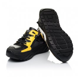 Детские кроссовки Woopy Fashion черные для девочек натуральная кожа размер 31-33 (7072) Фото 2
