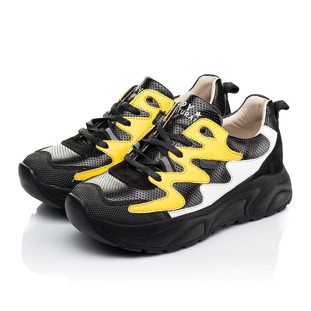 Детские кроссовки Woopy Fashion черные для девочек натуральная кожа размер 31-40 (7072) Фото 3
