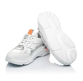 Детские кроссовки Woopy Fashion белые для девочек натуральная кожа размер 31-40 (7076) Фото 2