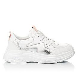 Детские кроссовки Woopy Fashion белые для девочек натуральная кожа размер 31-40 (7076) Фото 4