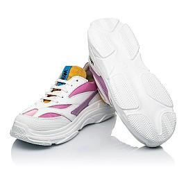 Детские кроссовки Woopy Fashion разноцветные для девочек натуральная кожа размер 31-37 (7077) Фото 2