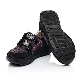 Детские кроссовки Woopy Fashion черные для девочек натуральный нубук размер 28-38 (7082) Фото 2