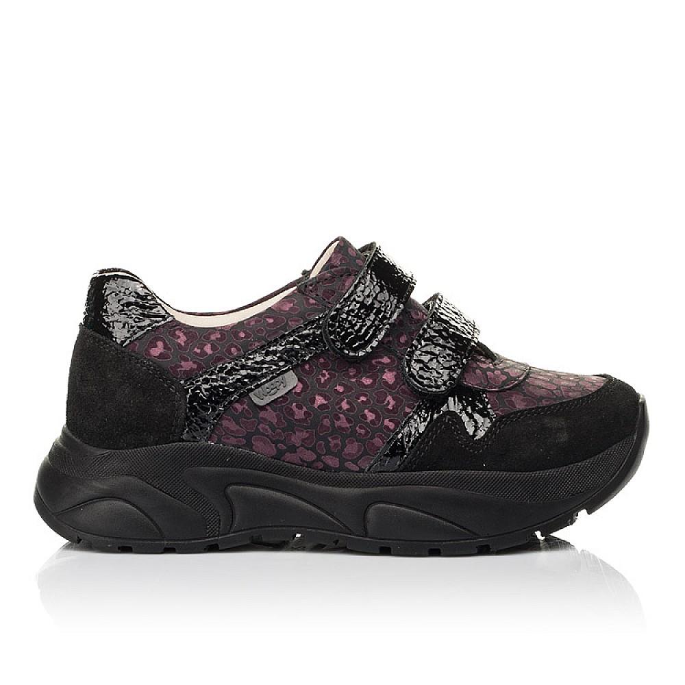 Детские кроссовки Woopy Fashion черные для девочек натуральный нубук размер 28-39 (7082) Фото 4