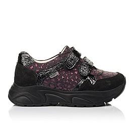Детские кроссовки Woopy Fashion черные для девочек натуральный нубук размер 28-38 (7082) Фото 4