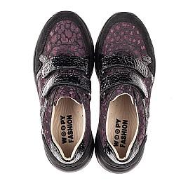 Детские кроссовки Woopy Fashion черные для девочек натуральный нубук размер 28-38 (7082) Фото 5