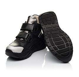 Детские демисезонные ботинки Woopy Fashion черные для девочек натуральная кожа размер 27-40 (7126) Фото 2