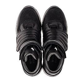 Детские демисезонные ботинки Woopy Fashion черные для мальчиков натуральная кожа размер 26-39 (7134) Фото 5