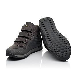Детские демисезонные ботинки Woopy Fashion серые для девочек натуральный нубук размер 21-40 (7144) Фото 2