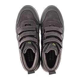 Детские демисезонные ботинки Woopy Fashion серые для девочек натуральный нубук размер 21-40 (7144) Фото 5