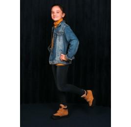 Детские зимние ботинки на шерсти Woopy Orthopedic рыжие для девочек натуральный нубук размер 22-37 (7168) Фото 7