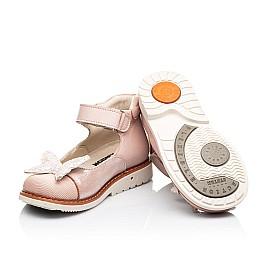 Детские туфли Woopy Orthopedic розовые для девочек натуральная кожа и нубук размер 23-30 (7171) Фото 2