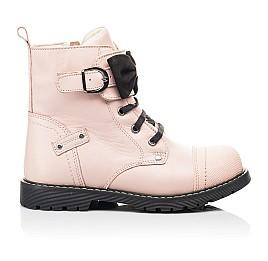 Детские зимние ботинки на шерсти Woopy Orthopedic бежевые для девочек натуральная кожа размер 26-26 (7202) Фото 4