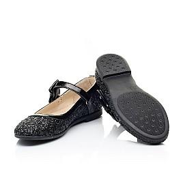 Детские туфли Woopy Fashion черные для девочек современный искусственный материал размер 29-37 (7208) Фото 2