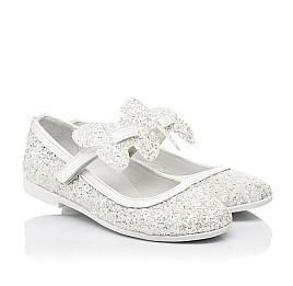 Детские туфли Woopy Fashion белые для девочек современный искусственный материал размер 26-37 (7239) Фото 1