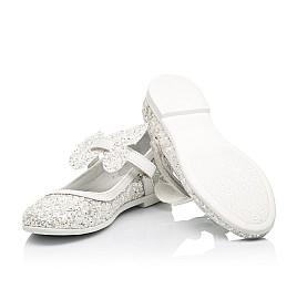 Детские туфли Woopy Fashion белые для девочек современный искусственный материал размер 26-37 (7239) Фото 2