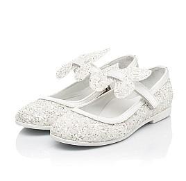 Детские туфли Woopy Fashion белые для девочек современный искусственный материал размер 26-37 (7239) Фото 3