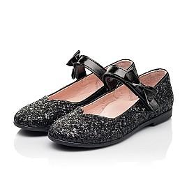 Детские туфли Woopy Fashion черные для девочек современный искусственный материал размер 28-36 (7242) Фото 3