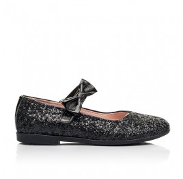 Детские туфли Woopy Fashion черные для девочек современный искусственный материал размер 28-36 (7242) Фото 4