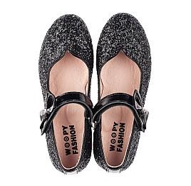 Детские туфли Woopy Fashion черные для девочек современный искусственный материал размер 28-36 (7242) Фото 5