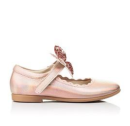 Детские туфли Woopy Fashion золотые для девочек натуральная кожа размер 27-36 (7244) Фото 4