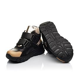 Детские демисезонные ботинки (подкладка кожа) Woopy Fashion черные для девочек натуральная кожа размер 26-39 (8003) Фото 2