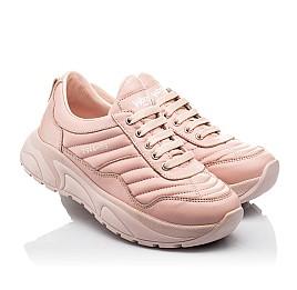 Детские кроссовки Woopy Fashion пудровые для девочек натуральная кожа размер 33-40 (8010) Фото 1