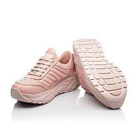 Детские кроссовки Woopy Fashion пудровые для девочек натуральная кожа размер 33-40 (8010) Фото 2