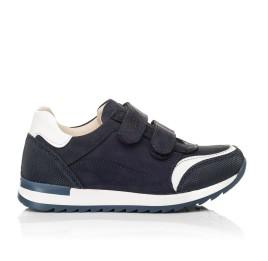Детские кроссовки Woopy Fashion синие для мальчиков натуральный нубук размер 20-37 (8016) Фото 4