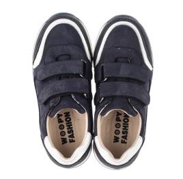 Детские кроссовки Woopy Fashion синие для мальчиков натуральный нубук размер 20-37 (8016) Фото 5
