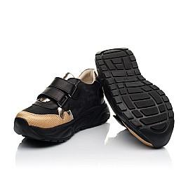 Детские кроссовки Woopy Fashion черные для девочек натуральный нубук, кожа размер 28-38 (8028) Фото 2