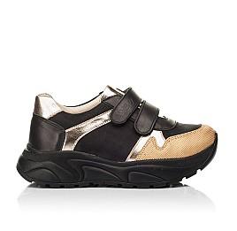 Детские кроссовки Woopy Fashion черные для девочек натуральный нубук, кожа размер 28-38 (8028) Фото 4