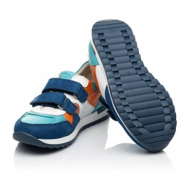 Детские кроссовки Woopy Fashion разноцветные для мальчиков натуральный нубук размер 20-37 (8033) Фото 2