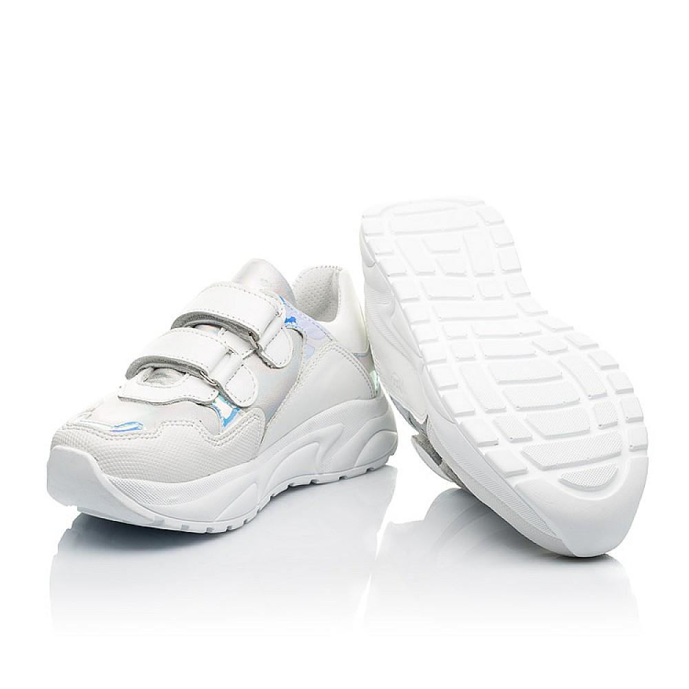 Детские кроссовки Woopy Fashion белые для девочек натуральная кожа размер 21-39 (8038) Фото 2