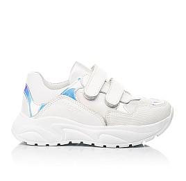 Детские кроссовки Woopy Fashion белые для девочек натуральная кожа размер 21-39 (8038) Фото 4