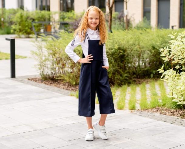 Девочка обута в детские кроссовки Woopy Fashion белые (8038) Фото 2