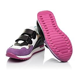 Детские кроссовки Woopy Fashion разноцветные для девочек натуральный нубук и кожа размер 18-36 (8040) Фото 2
