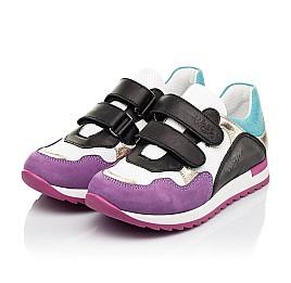 Детские кроссовки Woopy Fashion разноцветные для девочек натуральный нубук и кожа размер 18-36 (8040) Фото 3