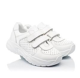 Детские кроссовки Woopy Fashion белые для девочек натуральная кожа размер 26-40 (8047) Фото 1