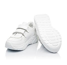 Детские кроссовки Woopy Fashion белые для девочек натуральная кожа размер 26-40 (8047) Фото 2