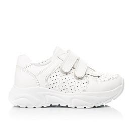 Детские кроссовки Woopy Fashion белые для девочек натуральная кожа размер 26-40 (8047) Фото 4