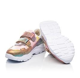 Детские кроссовки Woopy Fashion разноцветные для девочек натуральная кожа и нубук размер 28-40 (8055) Фото 2