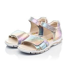 Детские босоножки Woopy Fashion разноцветные для девочек натуральный нубук размер 32-39 (8056) Фото 3
