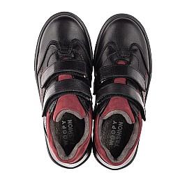 Детские демисезонные ботинки Woopy Fashion черные для мальчиков натуральная кожа размер 21-30 (8062) Фото 5