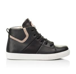 Детские демисезонные ботинки (подкладка кожа) Woopy Fashion черные для мальчиков натуральная кожа размер 31-40 (8064) Фото 4