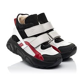 Детские демисезонные ботинки (подкладка кожа) Woopy Fashion разноцветные для мальчиков натуральная кожа, замша размер 21-36 (8065) Фото 1