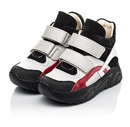 Детские демисезонные ботинки (подкладка кожа) Woopy Fashion разноцветные для мальчиков натуральная кожа, замша размер 21-36 (8065) Фото 3
