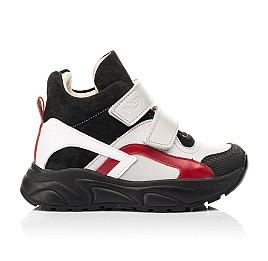 Детские демисезонные ботинки (подкладка кожа) Woopy Fashion разноцветные для мальчиков натуральная кожа, замша размер 21-36 (8065) Фото 4