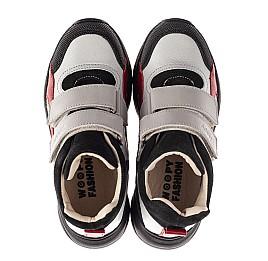 Детские демисезонные ботинки (подкладка кожа) Woopy Fashion разноцветные для мальчиков натуральная кожа, замша размер 21-36 (8065) Фото 5